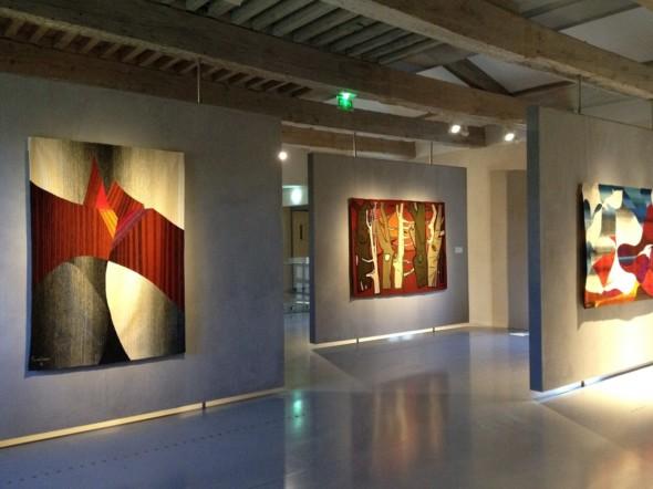 2015 Musée Dom Robert Abbaye – école de Sorèze-Tarn – Tapisserie de Théo Kerg – au milieu – La Forêt – 1955