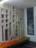Mur en béton blanc de Carrare et verre de Baccarat + tableau -vita- de l'Adler Apotheke Remscheid