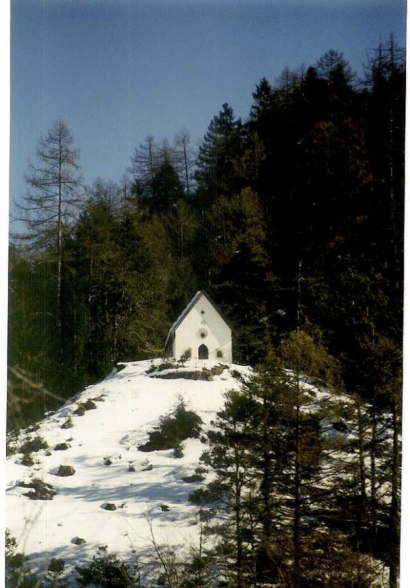 1966 Chapelle de la peste à Dormitz Tirol – Restauration Théo Kerg