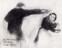 1931 La servante grondée, dessin