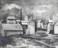 1941 Cimenterie à Esch-Alzette, huile sur toile
