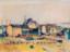 1942 Vue sur le quartier Bruch à Esch-sur-Alzette, aquarelle