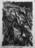 1947 Romance de la Luna, Luna, esquisse pour le tableau Hommage à Federico Garcia Lorca