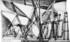 1948  En calles sèches, dessin à l'encre, préparation pour un tableau