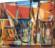 1948  Yachts en calles sèches, huile sur carton, 45×37 cm