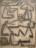 1951 Pêcheurs au repos, dessin sur papier exposé au salon du dessin et de la peinture à l'eau au Musée d'Art Moderne de Paris en 1952, (no 551)