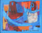 1953 A l'ombre, huile sur toile, 33 x 41 cm, (no 8553)