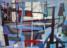 1953 A St. Tropez, huile sur toile, 46 x 55 cm, 10F, exposée en 1956 au Von der Heydt- Museum à Wuppertal, au Frankfurter Kunstkabinett, H. Bekker vom Rath, au Kunstverein Köln et à la Overbeck-Gesellschaft à Lübeck, collection Max Robert au Musée de Moutier