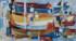 1954 Langoustiers à quai, huile sur toile, 80 x 150 cm