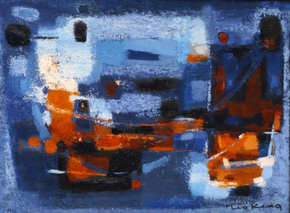 1957 En Bretagne huile sur toile, 46×61 cm (no 1557)