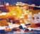 1958 Structures colorées IV, technique mixte sur toile, 59 x 70 cm