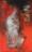 1960 L'île rouge, œuvre tactiliste  sur toile, 1955-60, 62 x 38 cm
