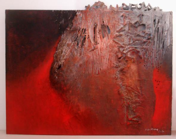1970  Bourgeon d'automne, 1956-1970, 100 x130cm