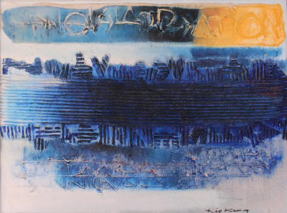 1963 La seule révolte est la création, oeuvre tactiliste, 1962-1963
