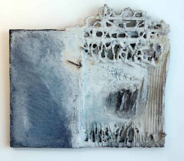 1978 Civilisation perdue, 1958-1978, Evasion 20, tableau tactiliste, 60 x 66 cm