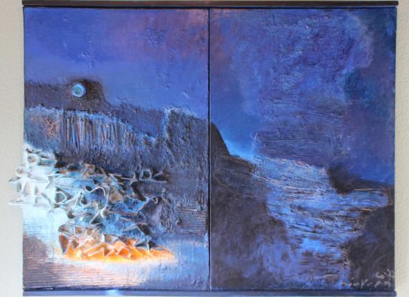 1977 Crever les limites, œuvre tactiliste, 1960-1977, 85 x 108 cm