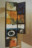 1973 Le chant silencieux de Donnovan, stèle suspendue double face, 113 x 34 cm, avec miroir Mica 80 x 31 cm, collection Musée Théo Kerg à Schriesheim