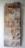 1974 Fossilisé, oeuvre tactiliste, 147 x 50 cm