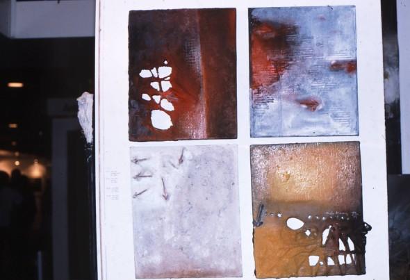 1984 Basel ART 15, Galerie Toni Brechbüh,l Stand 131, 14.6. – 18.6.1984