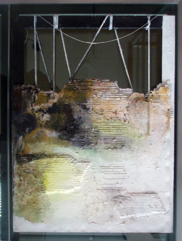 1989 Tension – Spannung, oeuvre tactiliste, 80 x 60 cm