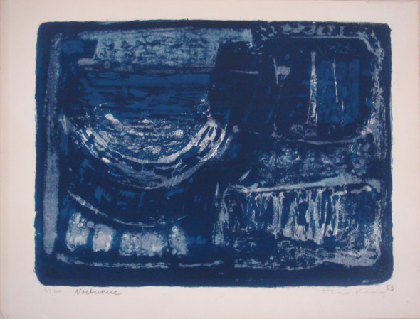 1953 Nocturne, lithographie