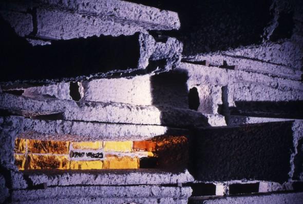 1966 SAD mur de lumière exposé au Pavillon Marsan, Musée du Louvre