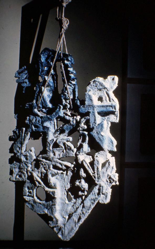 1963 Le poème pendu, 1960-1963, sculpture, Musée Théo Kerg Schriesheim