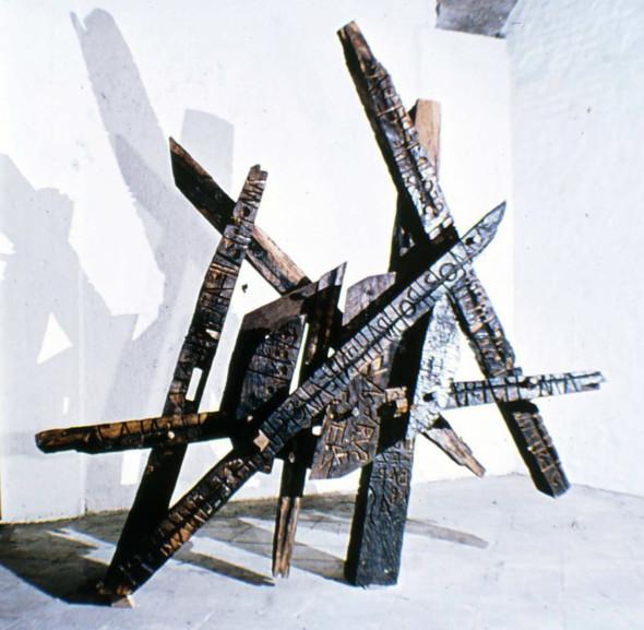 1964 Sculpture en bois pour un chemin de croix, 1961-1964