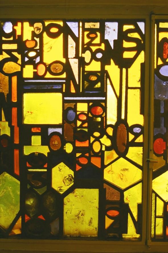 1964 Vitrail de la Adler Apotheke Remscheid