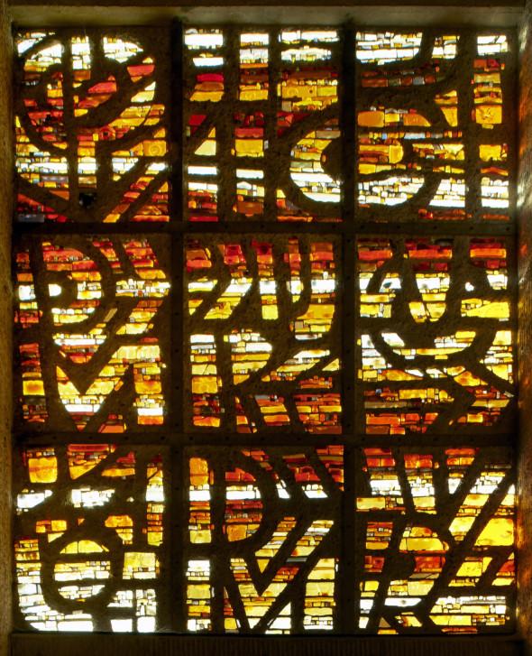 1979 Vitrail de l'Eglise Fetschenhof-Cents