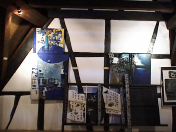 1989 Musée Théo Kerg, Schriesheim-Heidelberg, Manifestation, 1963-1968, 146 x 75 cm