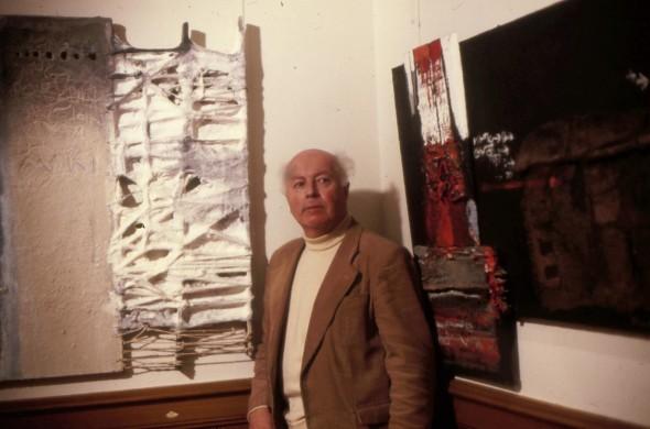 Théo Kerg au Musée de Moutier en 1981