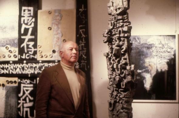 1981 Théo Kerg au Musée de Moutier
