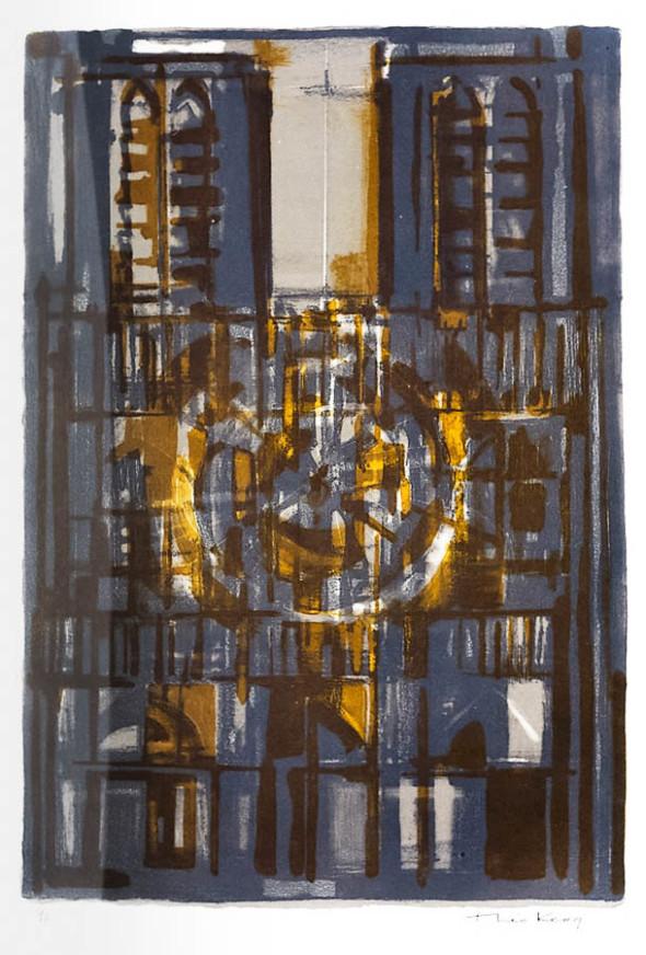 1949 Cathédrale jaune (57×38,5) 6/6