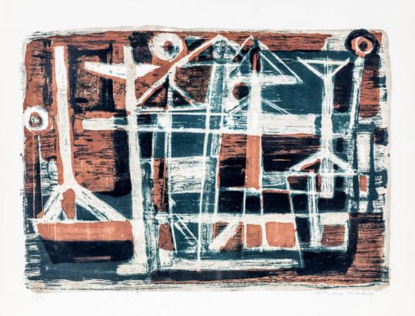 1953 Le Port Lithographie, 5/15 (50,5 x 65,5)