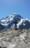 1964 Zermatt sculpture avec les lettres des noms de deux jeunes alpinistes décédés sous une avalanche