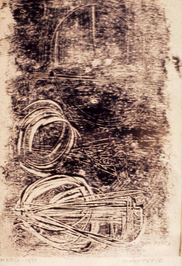 1933  Monotypie 32 x 24 cm
