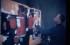 1955 Marguerite – Théo Kerg dans son atelier vers 1954-55 créant le tableau