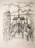 1947  Paris 05, Vue du Square de l'Archevêché, litho, 10.11.1947