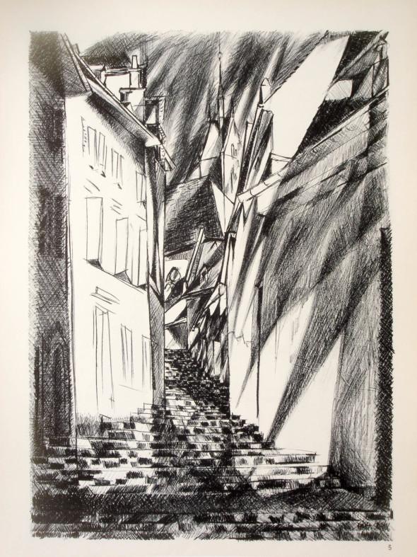 1947  Bâle 05, Vers l'au-delà, litho, 1.10.1947
