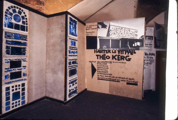 1971 Paris, Habiter le vitrail, Halles Baltard no.10 au sous-sol, au foyer de l'exposition – Picasso vous connaissez –