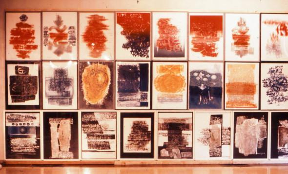 1976 La Seyne-sur-Mer, mur de graphismes