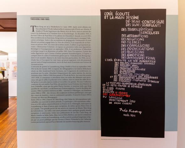 04 – Poème de Théo Kerg, «L'oeil écoute et la main dessine» (1979)