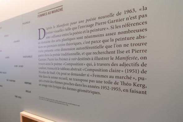 28 – Pierre Garnier, «Femmes au marché», poème faisant partie du recueil Poèmes à voir (Les Lettres, n°29, 1963). Fonds Jean-Paul Jacobs du CNL (L-214)
