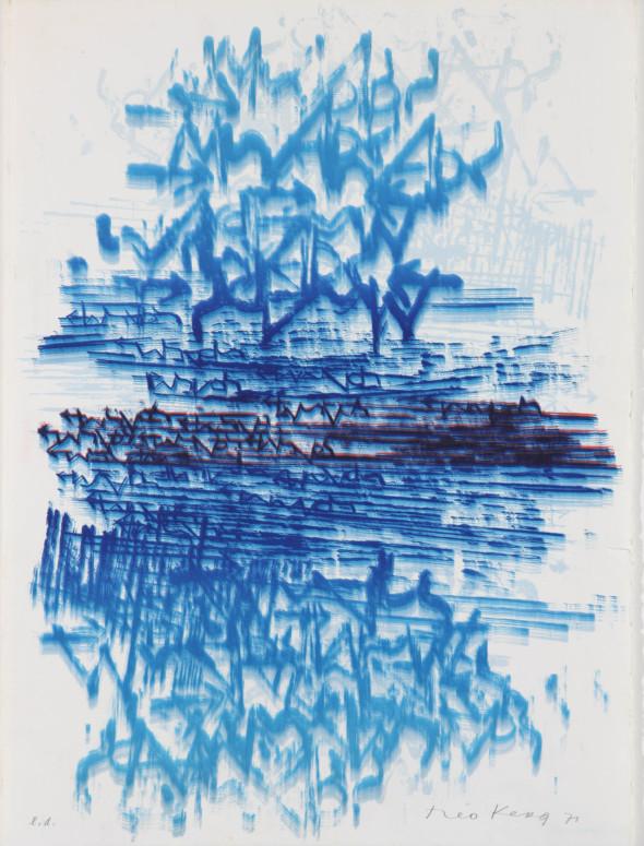 Théo Kerg, Litho, 1971, Kunstmuseum Bayreuth