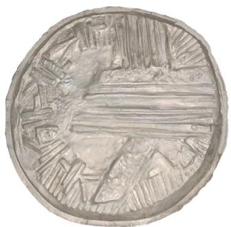 relief métallique