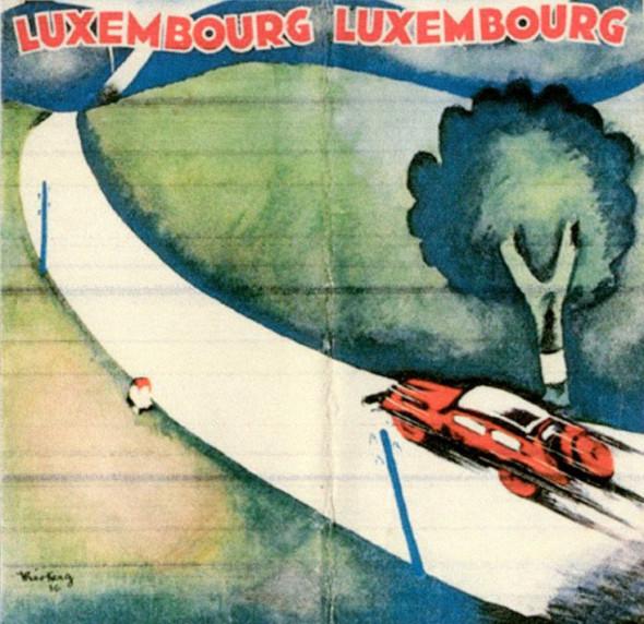 Theo Kerg, affiche, 1936