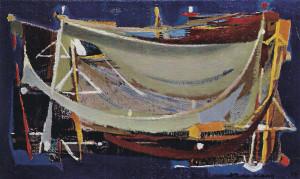 1953 Avant la nuit, huile sur toile