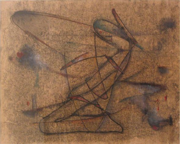 1933 Le songe, monotypie sur papier