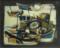 1951 Bateaux, huile sur toile, 41 x 33 cm, 6F